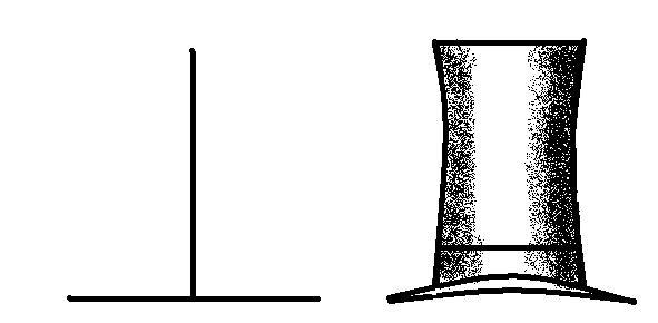 Optical illusions: Vertical and horizontal lines
