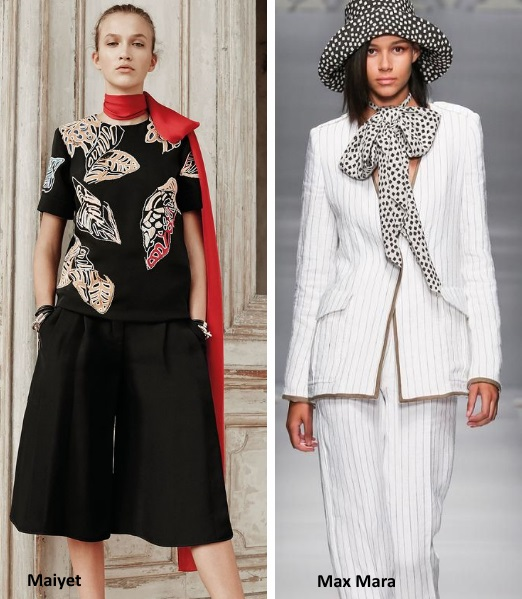 Trends: Ways to Wear Scarves
