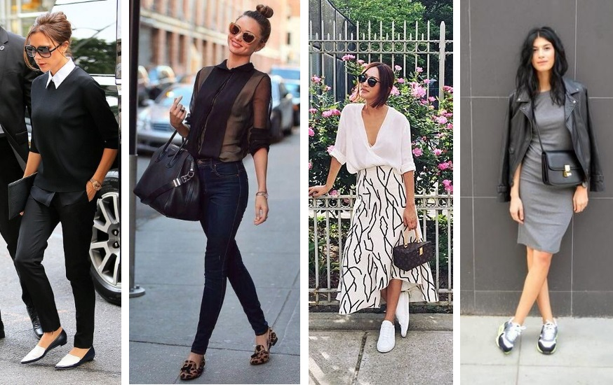 flats sneakers fashion trends