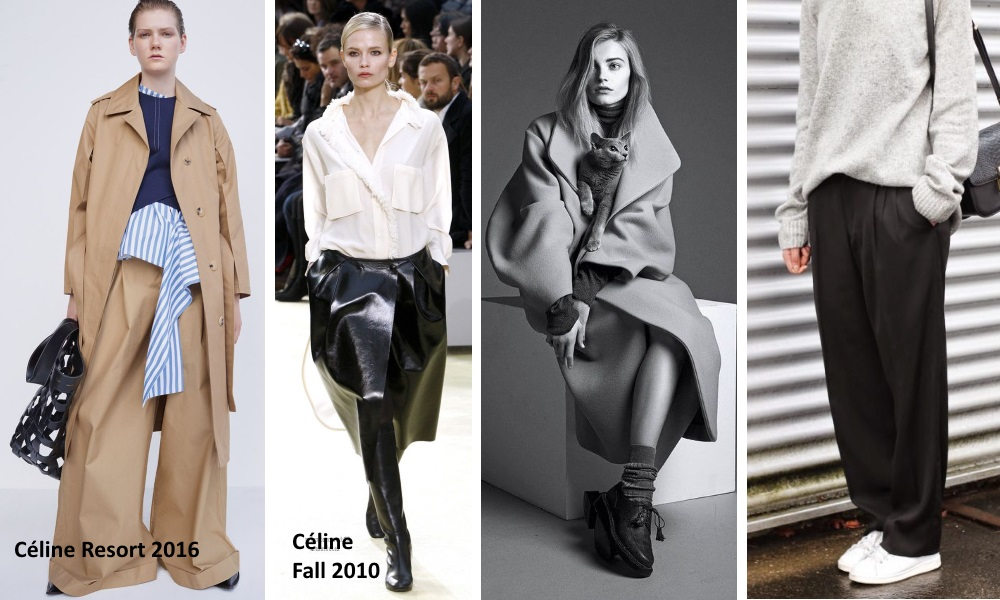 loose oversize fashion trends