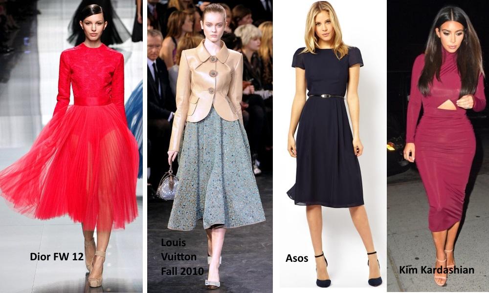 midi length fashion trends