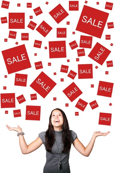 how to shop sale