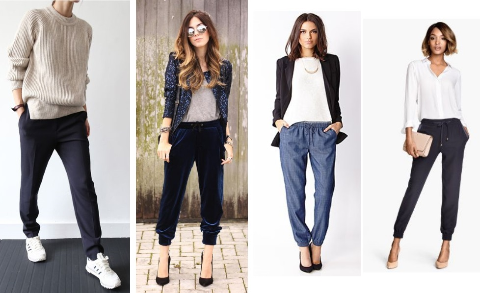 how to wear joggers