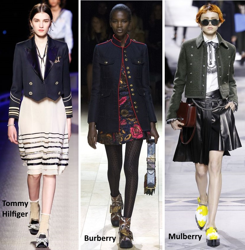 military jacket trend