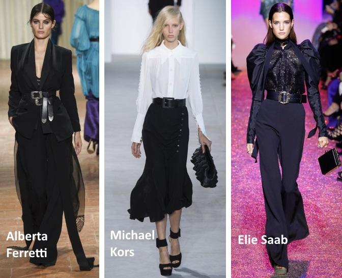 waist belt trend ss17