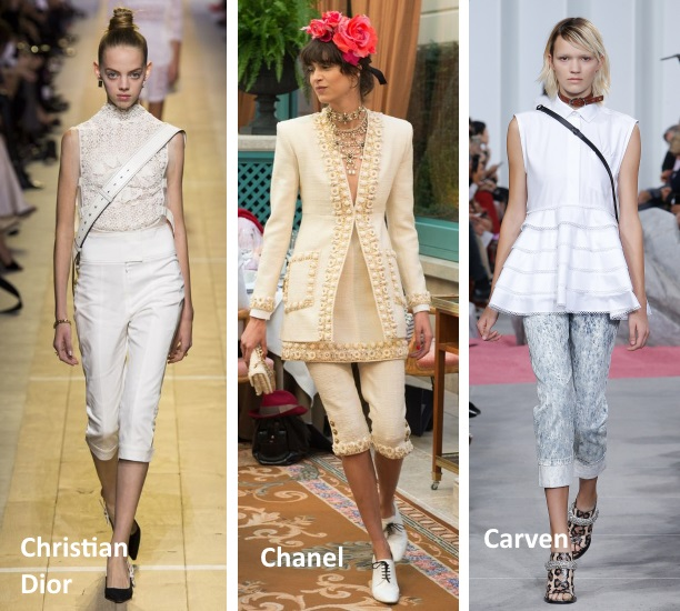 capri pants trend 2017