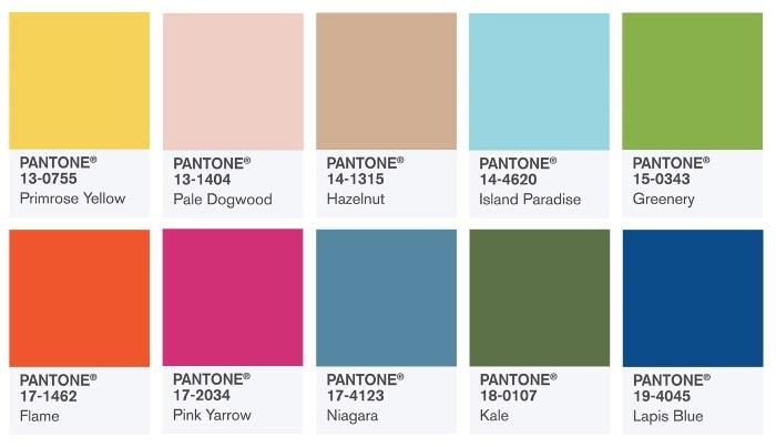 color trends pantone ss17