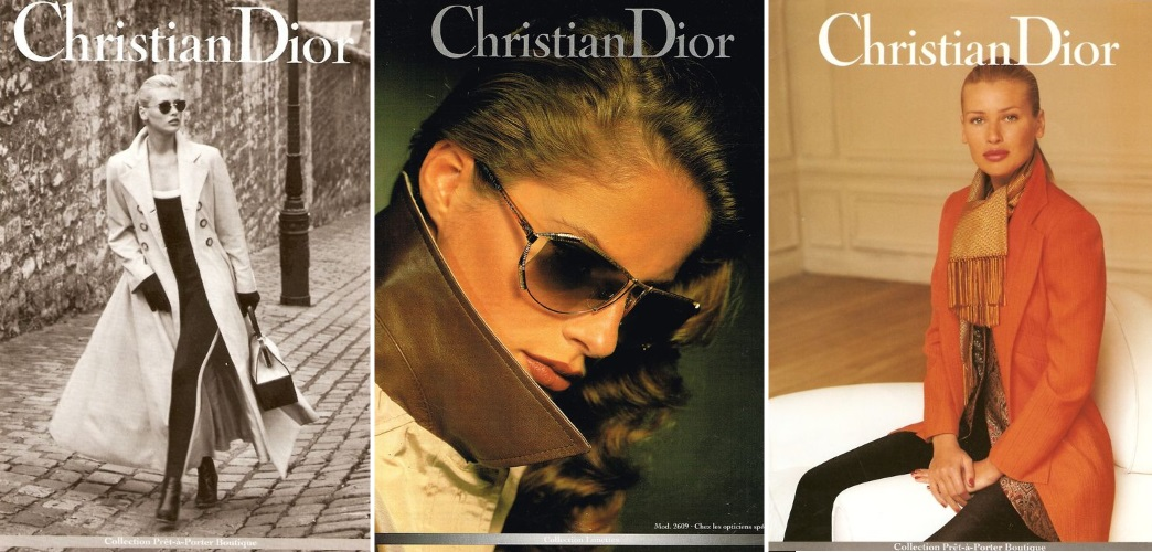 Christian Dior campaing 1991