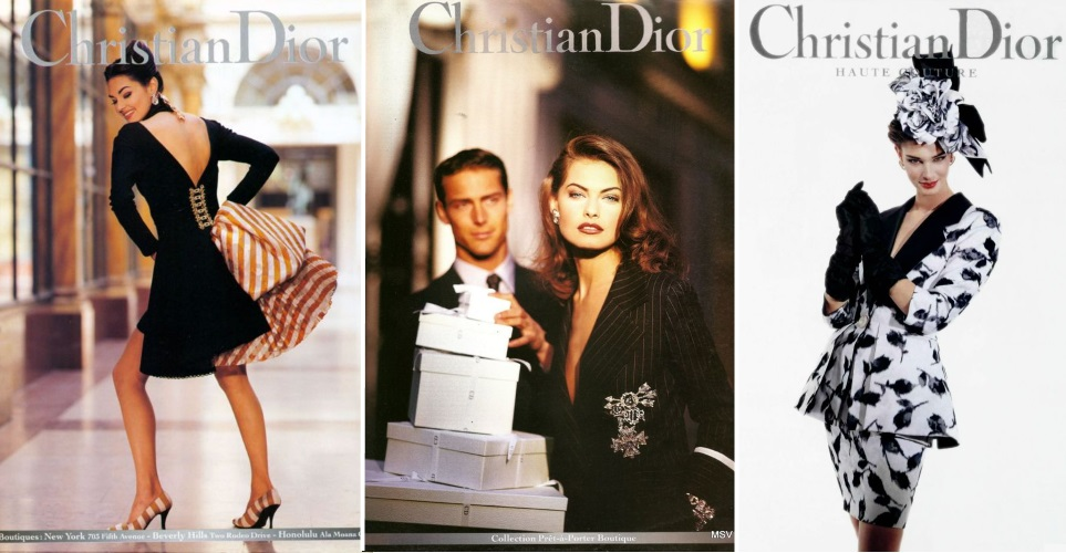 Christian Dior campaing 1992