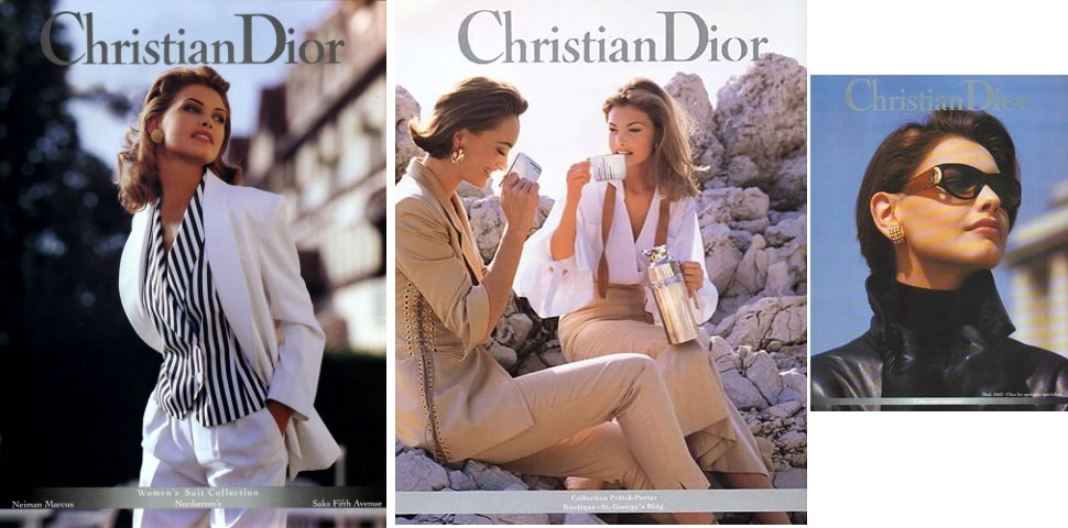 Christian Dior campaing 1993
