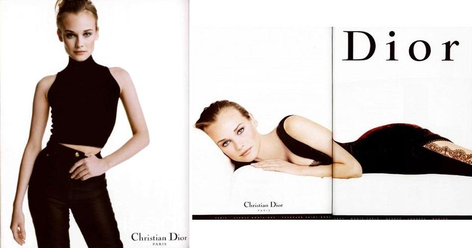 Christian Dior campaing 1996 Diane Kruger