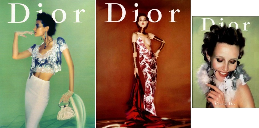 Christian Dior campaing 1998
