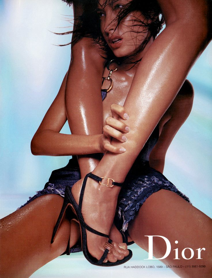 Dior's campaigns over the years