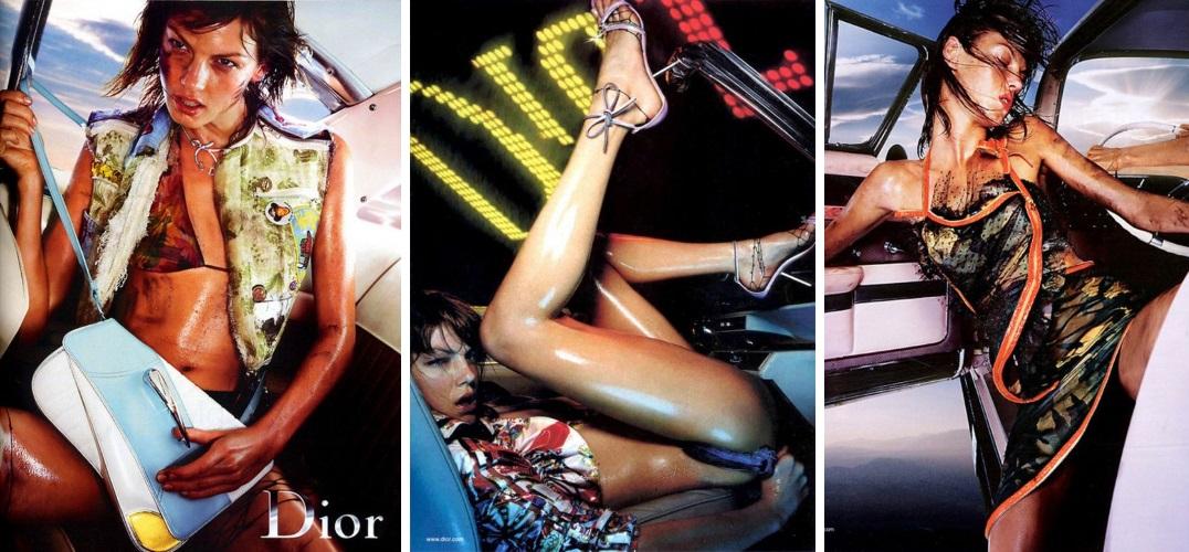 Christian Dior campaign 2001