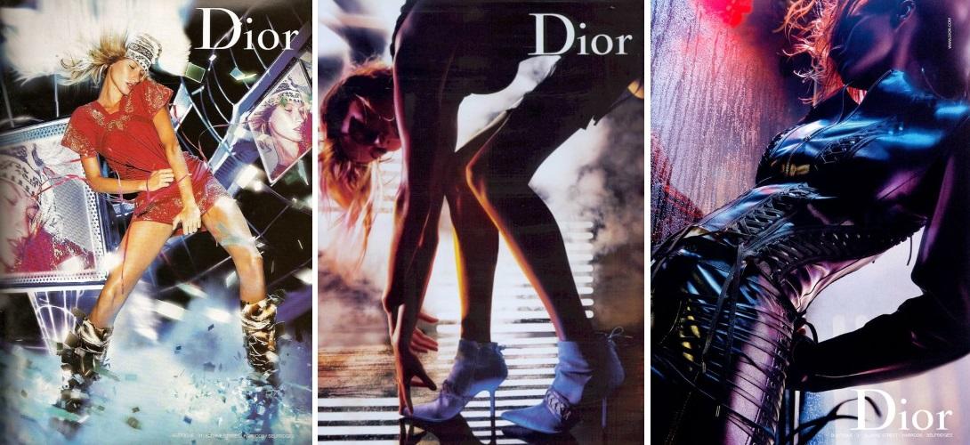 Christian Dior campaign  2002-03