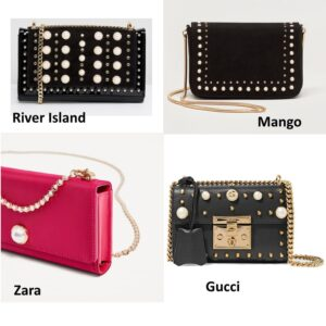pearl embellished bags