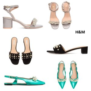 pearls  embellishments trend h&m