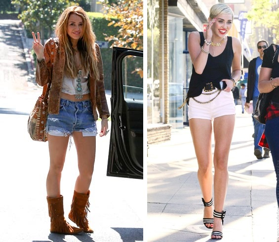 miley cyrus personal style