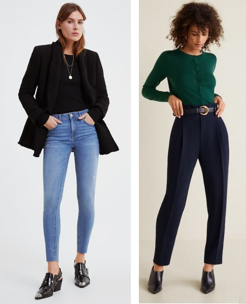 Modern Ways to Wear Skinnies and Cardigans