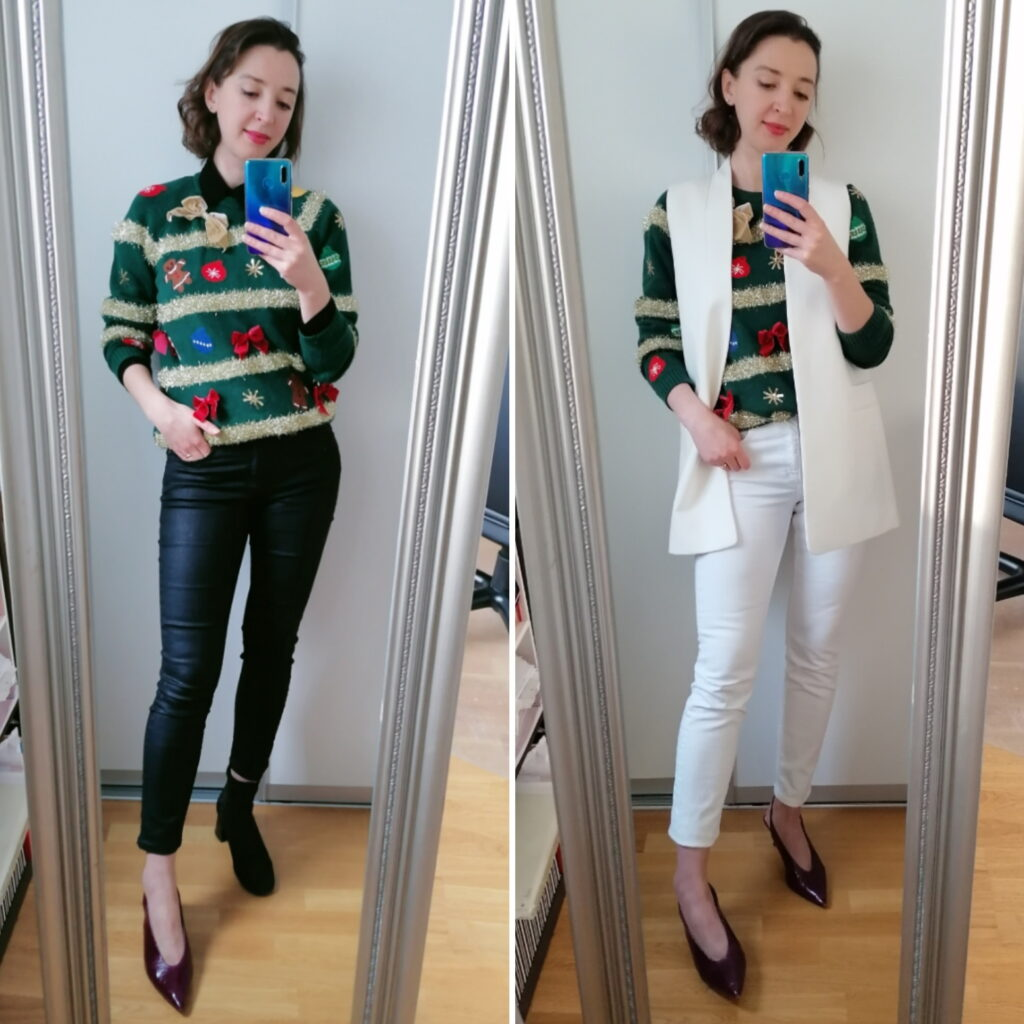 10 Ways to Style an Ugly Christmas Sweater