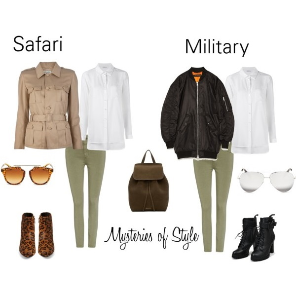 STYLES INSPO: FROM SAFARI TO MILITARY AND BACK